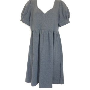 eci new york gray sweater dress Sweetheart size 10